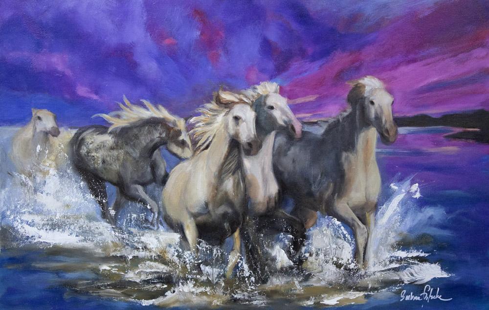 purple-horses